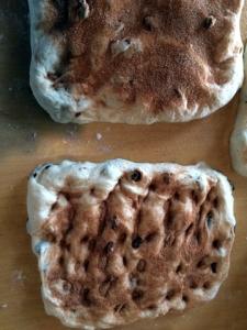 cinnamon raisin bread formation