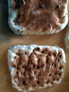 cinnamon raisin bread formation